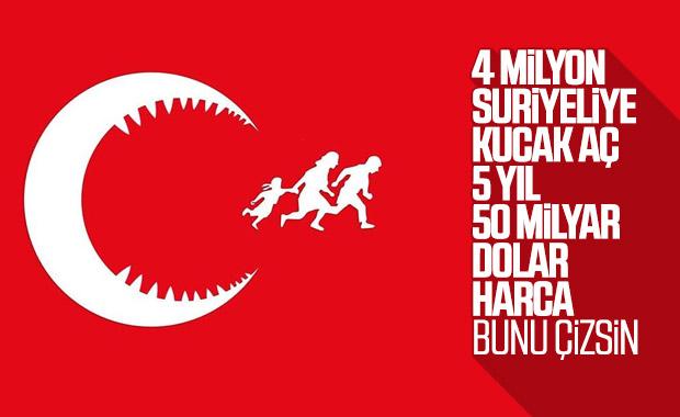 Suriyeli karikatürist Türkiye'deki mültecileri çizdi
