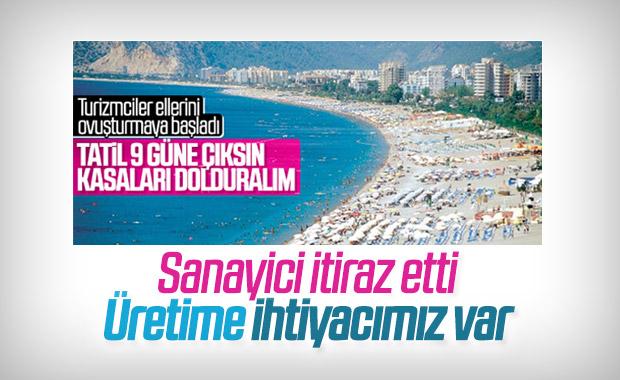 Turizmcilerden 9 günlük Kurban Bayramı talebi
