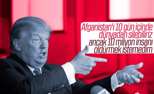 Trump yine tehdit dolu ifadeler kullandı