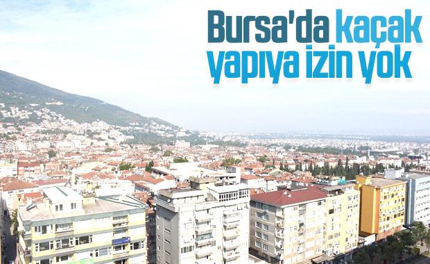 Bursa'da kaçak yapılar yıkılacak