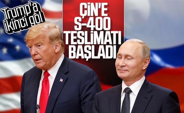 Rusya'dan Çin'e S-400 sevkiyatı