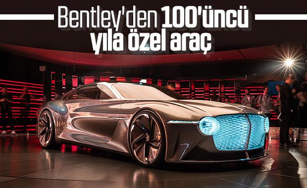 Bentley yeni tasarım harikası aracını tanıttı