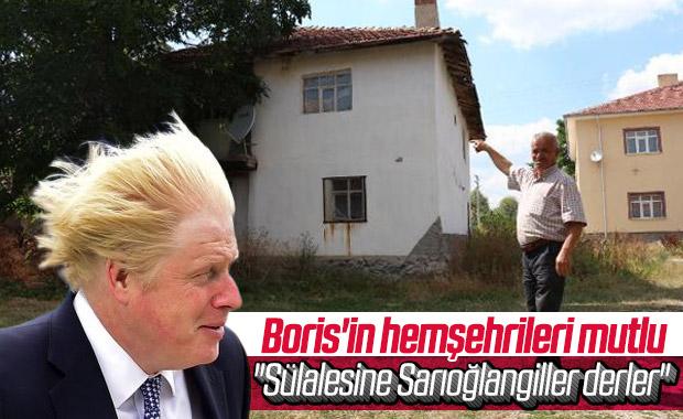 Boris Johnson'ın hemşehrileri sevindi