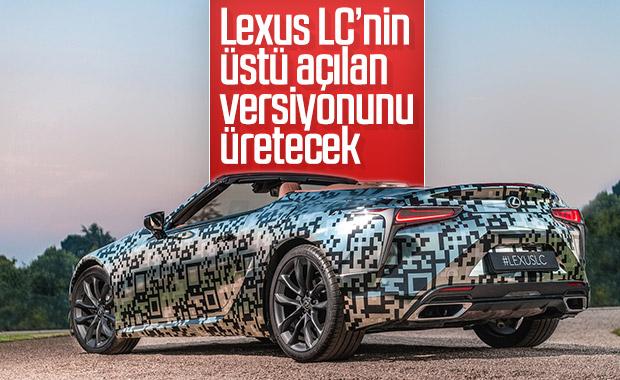 Lexus yeni aracını üstü açık üretecek