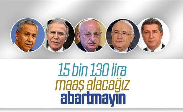 Mehmet Ali Şahin, YİK üyelerinin maaşını açıkladı