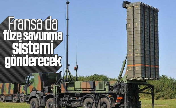 Fransa'dan Türkiye'ye füze savunma sistemi
