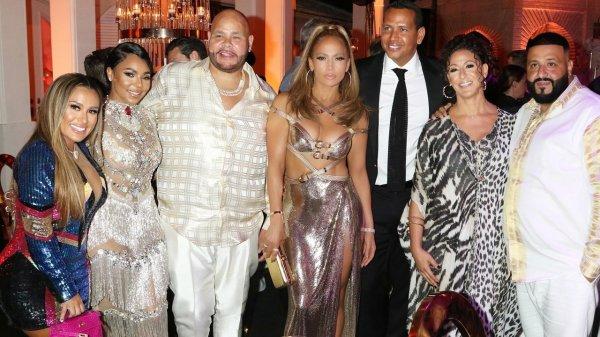 Jennifer Lopez'in 50. yaş günü partisi