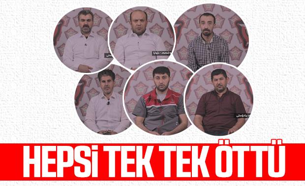 Erbil'deki terör saldırısının failleri konuştu