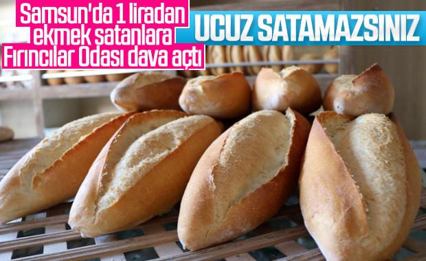 Samsun'da ucuza ekmek satan fırınlar mahkemelik oldu
