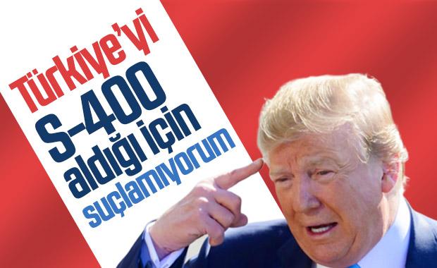 Trump: Türkiye'yi suçlamıyorum