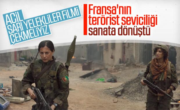 Fransızlar YPG için film yaptı