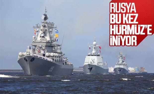 İran ile Rusya'dan Hürmüz'de ortak tatbikat