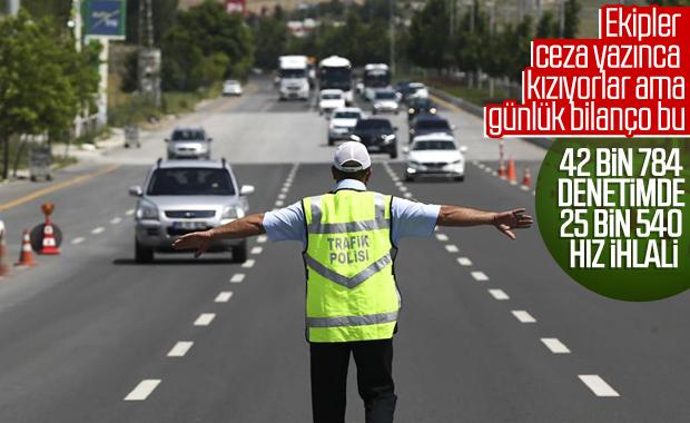 Türkiye'de eş zamanlı trafik denetimi: 27 bin ihlal