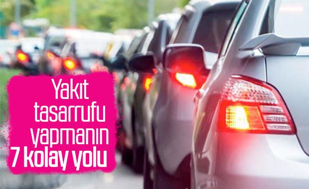 Otomobillerde yakıt tasarrufu kolayca yapılabilir