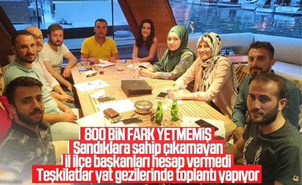 Beykoz AK Parti Gençlik Kolları yat toplantısında