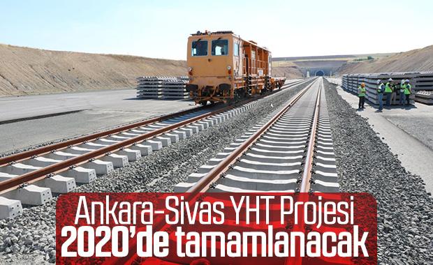Ankara-Sivas YHT projesinin yüzde 87'si bitti