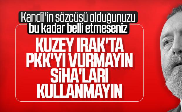 HDP, SİHA'ların kullanılmamasını istedi
