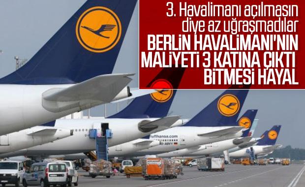 Berlin Havalimanı'nın inşaatı hala bitmedi