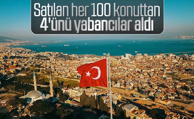 Yabancıların Türkiye'ye ilgisi sürüyor