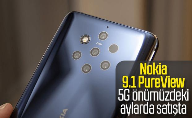 Nokia 9.1 PureView 5G yıl sonuna doğru satışa çıkacak