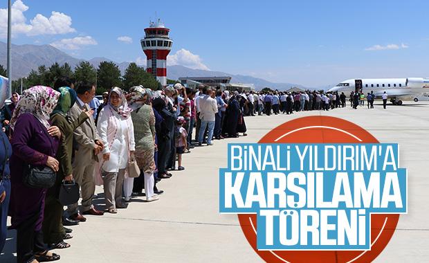 Binali Yıldırım Erzincan'da