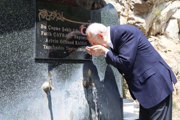 Kemal Kılıçdaroğlu saldırıya uğradığı yere gitti