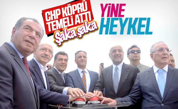 Kemal Kılıçdaroğlu heykel açtı