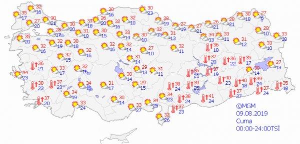 İstanbul için yüksek nem uyarısı