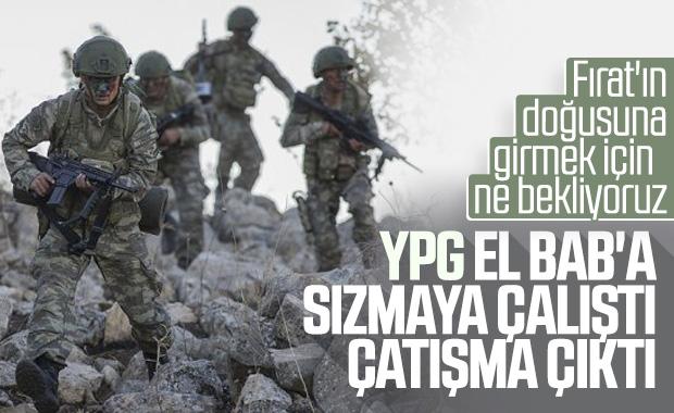 YPG'li teröristler El Bab'a sızmaya çalıştı