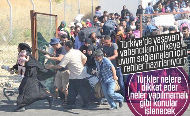 Türkiye'ye gelen yabancı göçmenler için uyum rehberi