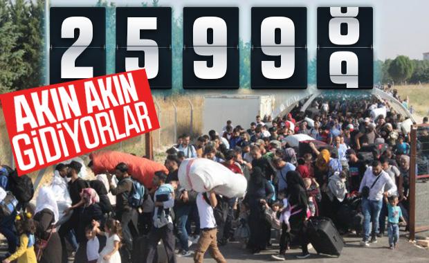 26 bin Suriyeli sınırı geçti