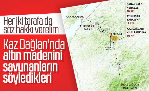 Enerji Bakanlığı, Kaz Dağları iddiasını yalanladı