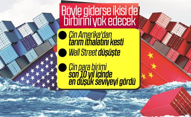 Çin'den ABD'ye yaptırım hamlesi geldi