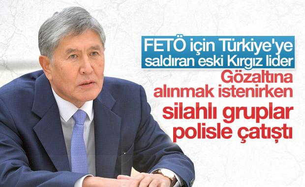 Atambayev'in gözaltısı Kırgızistan'ı karıştırdı