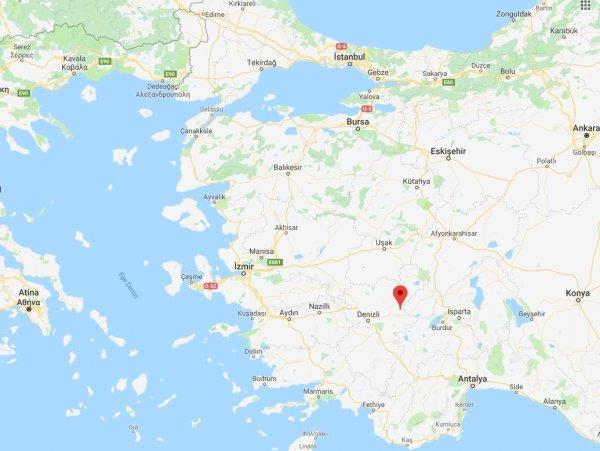 Denizli'de 6.0 büyüklüğünde deprem oldu