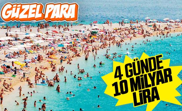 Kurban Bayramı'nda 10 milyon kişi tatil yapacak