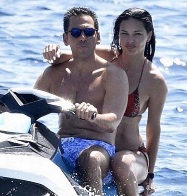 Adriana Lima ve Emir Uyar İtalya'da tatilde