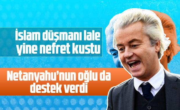 İslam düşmanı Wilders'a Netanyahu'nun oğlundan destek