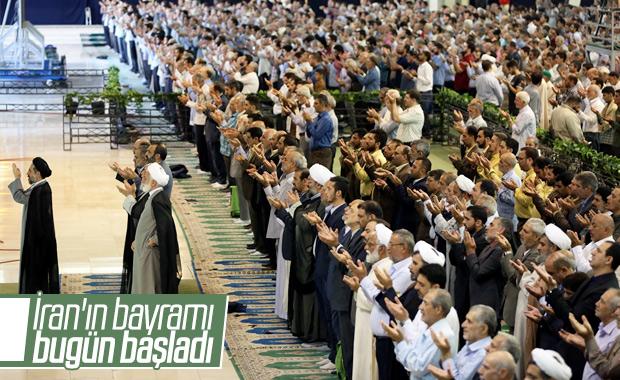 İran'da Kurban Bayramı namazı