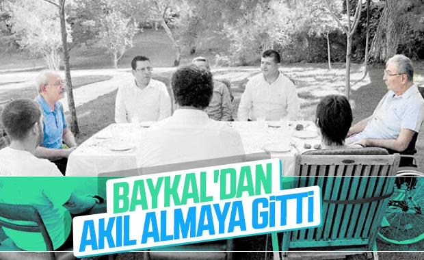 Kemal Kılıçdaroğlu'ndan Deniz Baykal'a ziyaret