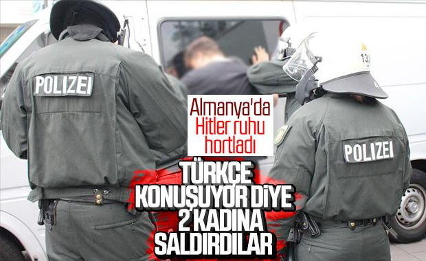 Almanya'da 2 Türk kadına ırkçı saldırı