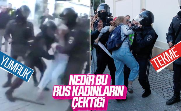 Rusya'da polis şiddeti kamerada