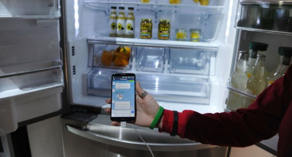 ABD'de sosyal medya bağımlısı buzdolabından tweet attı