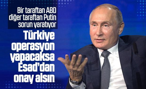 Rusya, Türkiye'den Esad'ı dikkate almasını istedi