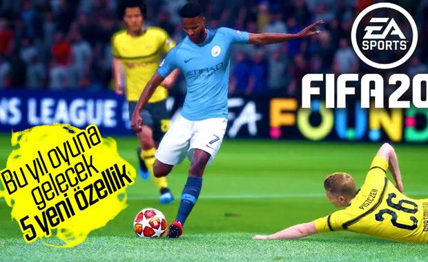 FIFA 20'ye gelecek 5 önemli yenilik