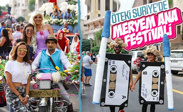 Suriye'de 'Meryem Ana' festivali