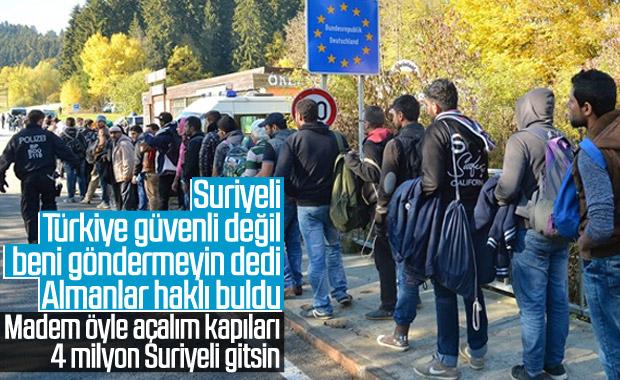 Alman mahkeme Suriyeli sığınmacının Türkiye savunmasını