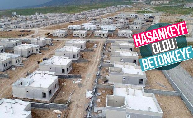 Hasankeyf'in son hali