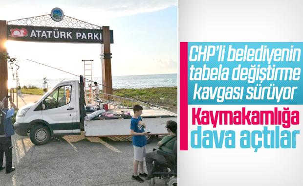 Fındıklı'da CHP'li belediyenin park kavgası