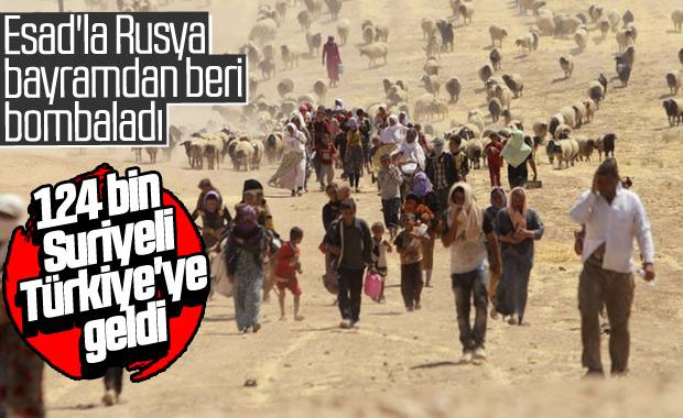 Saldırılar sonrası Suriyeliler yeniden Türkiye'ye geliyor